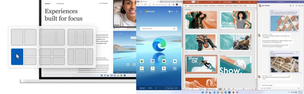 Windows 11 - Snap Group